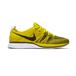 Nike Flyknit Trainer - Bright Citron/Black-White