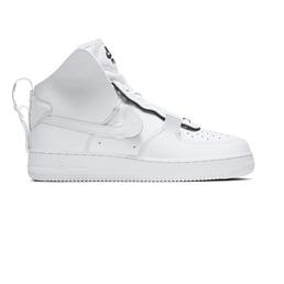 Nike Air Force 1 High PSNY - White/White-Blk