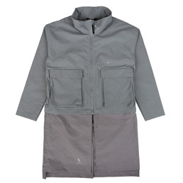 Nike NRG V Jacket (ACW) - Cool Grey Gunsmoke
