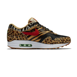 Nike Air Max 1 DLX - Wheat/Sport Red Bison