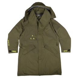 Nike NRG ACG Goretex Coat - Olive Canvas Volt