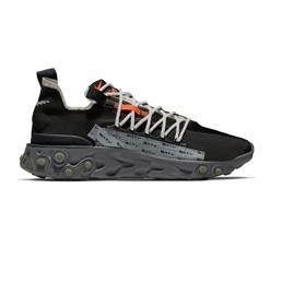 Nike React WR ISPA - Black/Metallic Silver