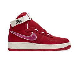 Nike Air Force 1 High/EU - Team Red/Sail