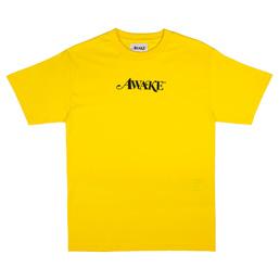 Awake NY T-Shirt Yellow