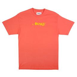 Awake NY T-Shirt Coral