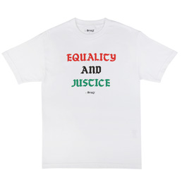 Awake NY Equality and Justice T-Shirt White