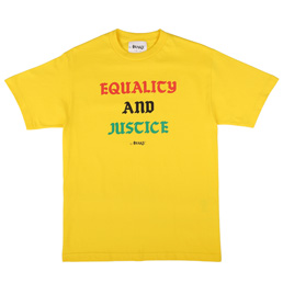 Awake NY Equality and Justice T-Shirt Yellow