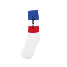Awake NY Flag Socks Blue/ White/ Red