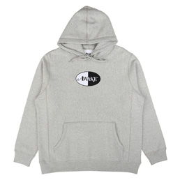 Awake NY Split Patch Logo Hoodie Grey