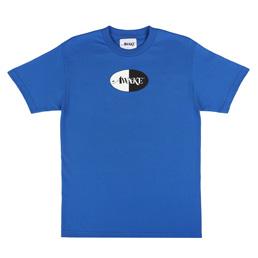Awake NY Split Logo T-Shirt Blue