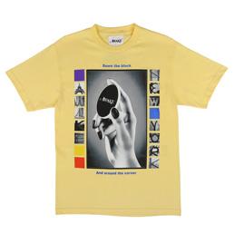Awake NY Down The Block T-Shirt Yellow