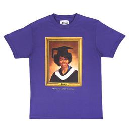 Awake NY Michelle Obama T-Shirt Purple