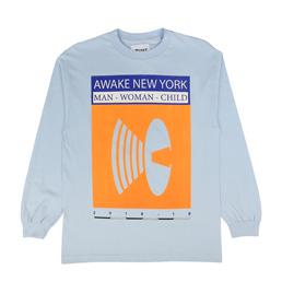 Awake NY Man Woman Child T-Shirt Blue