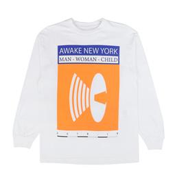 Awake NY Man Woman Child T-Shirt White