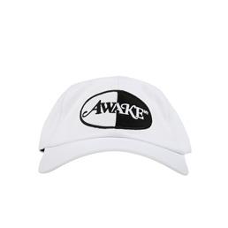Awake NY Split Logo Hat White