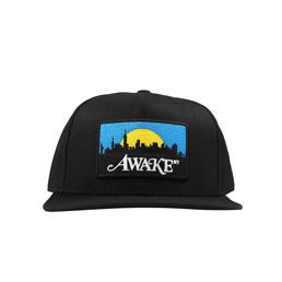 Awale NY Skyline Patch Hat Black