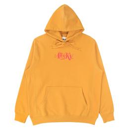 Awake NY Distorted Logo Hoodie Mustard