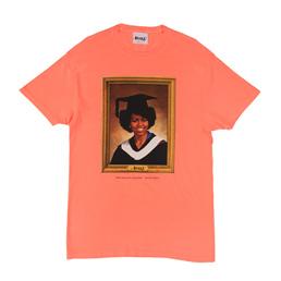 Awake NY Graduation T-Shirt Neon Coral