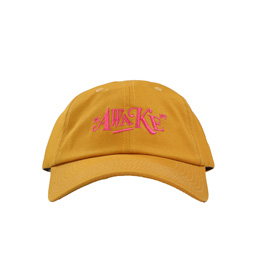 Awake NY Distorted Logo Dad Cap Mustard