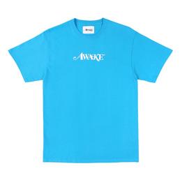 Awake NY Classic Logo T-Shirt Blue
