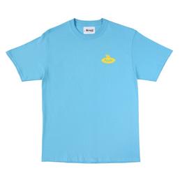 Awake NY 2019 Bulldog T-Shirt Blue