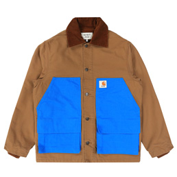 Awake NY X Carhartt Michigan Chore Coat - Ham Brow