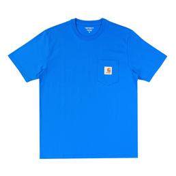 Awake NY X Carhartt WIP S/S T-Shirt - Bright Blue