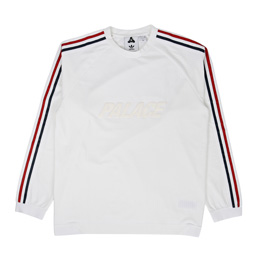 Palace x Adidas Light Crewneck White