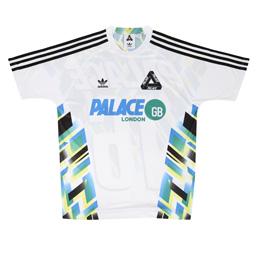 Palace x Adidas Home Jersey White/ Black
