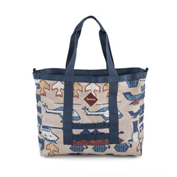 Bravo Range Block III Tote Bag Natural