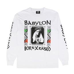 BXR x Babylon Mary L/S T-Shirt White