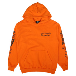 BXR x Babylon Eat The Rich Hoodie Orange