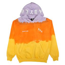 BXR x Babylon Dip Dye Hoodie Multi
