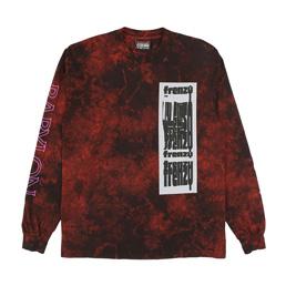 Babylon Frenzy L/S T-Shirt Red