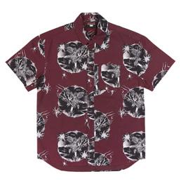 Babylon Othello Button Up Shirt Burgundy