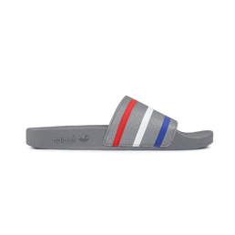 Adidas x Palace Adilette Granite/ Red/ Blue