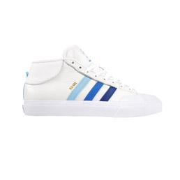 Adidas Matchcourt MID ADV Shoes - White/Royal/Blue