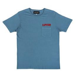 Bianca Chandon Lover Pocket T-Shirt Blue