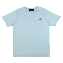 BC 6 Adult Line Pocket T-Shirt Blue