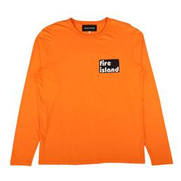 BC Fire Island L/S T-Shirt Orange
