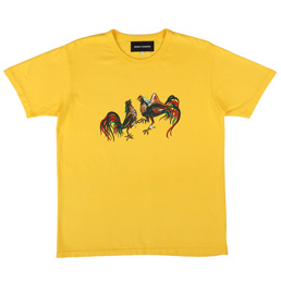 BC Cockfight T-Shirt Yellow