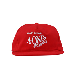 BC A-One Record Shop Hat Red