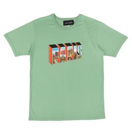 BC Greetings From Paris T-Shirt Cactus
