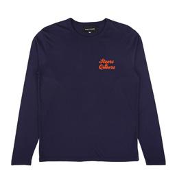 BC Steers & Queers LS T-Shirt Navy