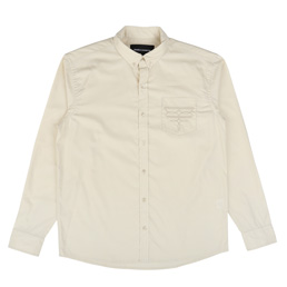 BC Western Button-Down Shirt Natural