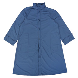 BC Packable Hood Raincoat Blue