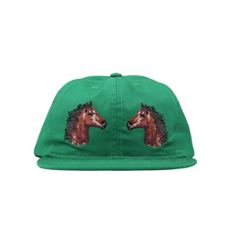 BC Two Horses Hat Forrest
