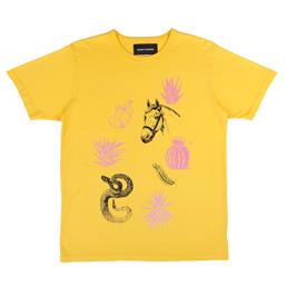 BC Travel T-Shirt Yellow