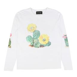 BC Cactus L/S T-Shirt White