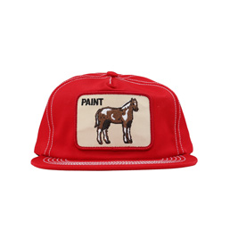 BC Patch Hat Red